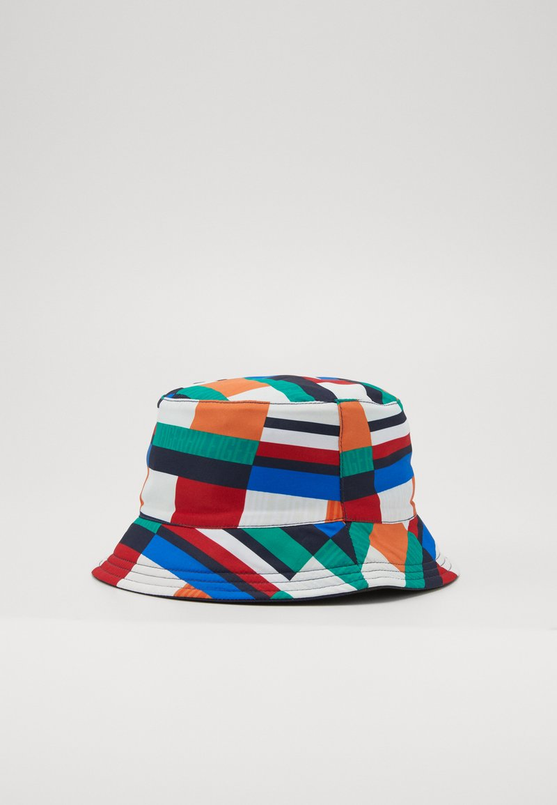 Tommy Hilfiger - FLAG PRINT BUCKET - Cappello - blue