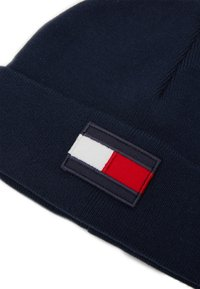 Tommy Hilfiger - BIG FLAG BEANIE - Muts - blue - 2