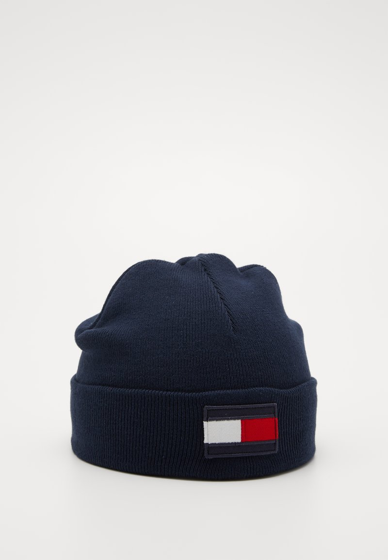 Tommy Hilfiger - BIG FLAG BEANIE - Muts - blue