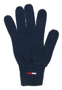 Tommy Jeans - BASIC FLAG GLOVES - Rukavice - blue - 1