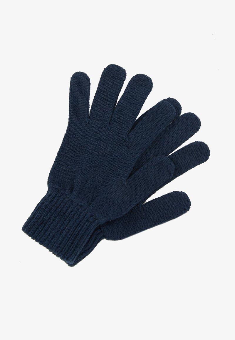 Tommy Jeans - BASIC FLAG GLOVES - Rukavice - blue