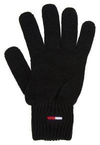 Tommy Jeans - BASIC FLAG GLOVES - Rukavice - black - 2