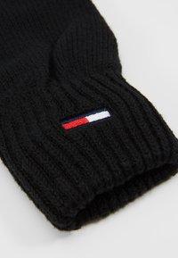 Tommy Jeans - BASIC FLAG GLOVES - Gants - black - 3