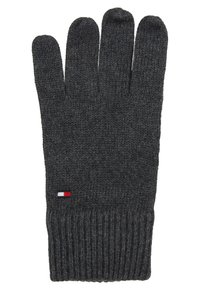 Tommy Hilfiger - GLOVES - Guantes - grey - 1