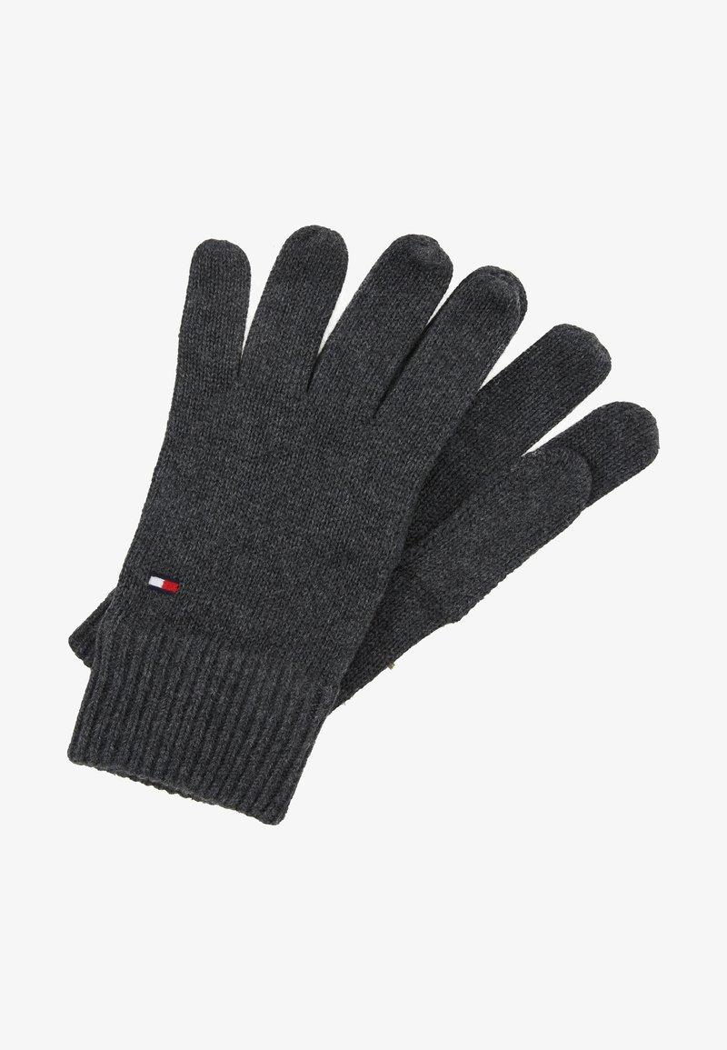 Tommy Hilfiger - GLOVES - Guantes - grey