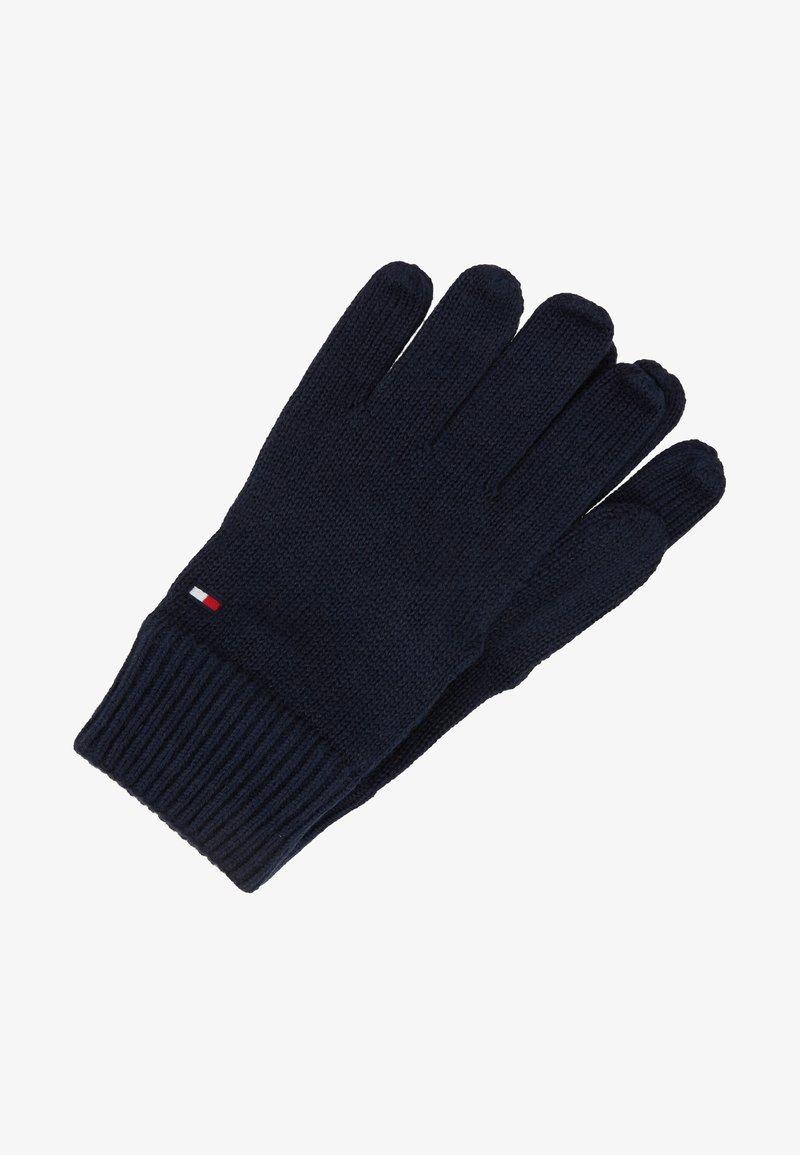 Tommy Hilfiger - GLOVES - Rękawiczki pięciopalcowe - blue