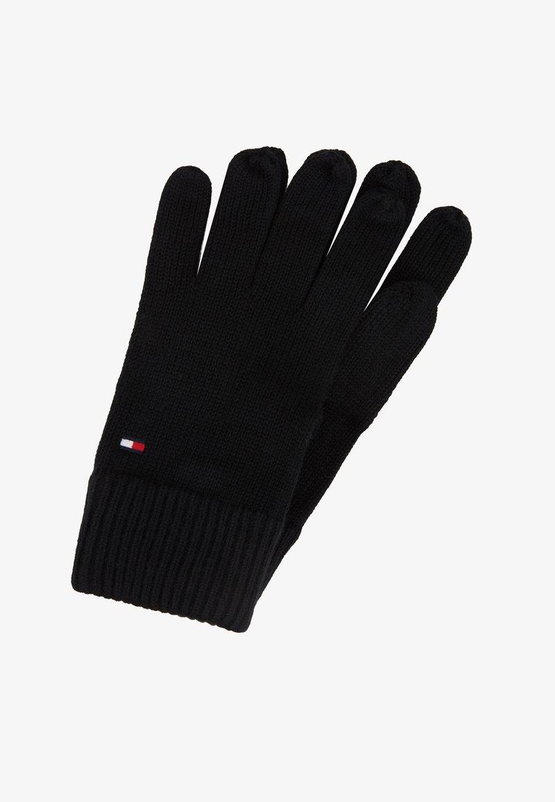 Tommy Hilfiger - GLOVES - Gloves - black