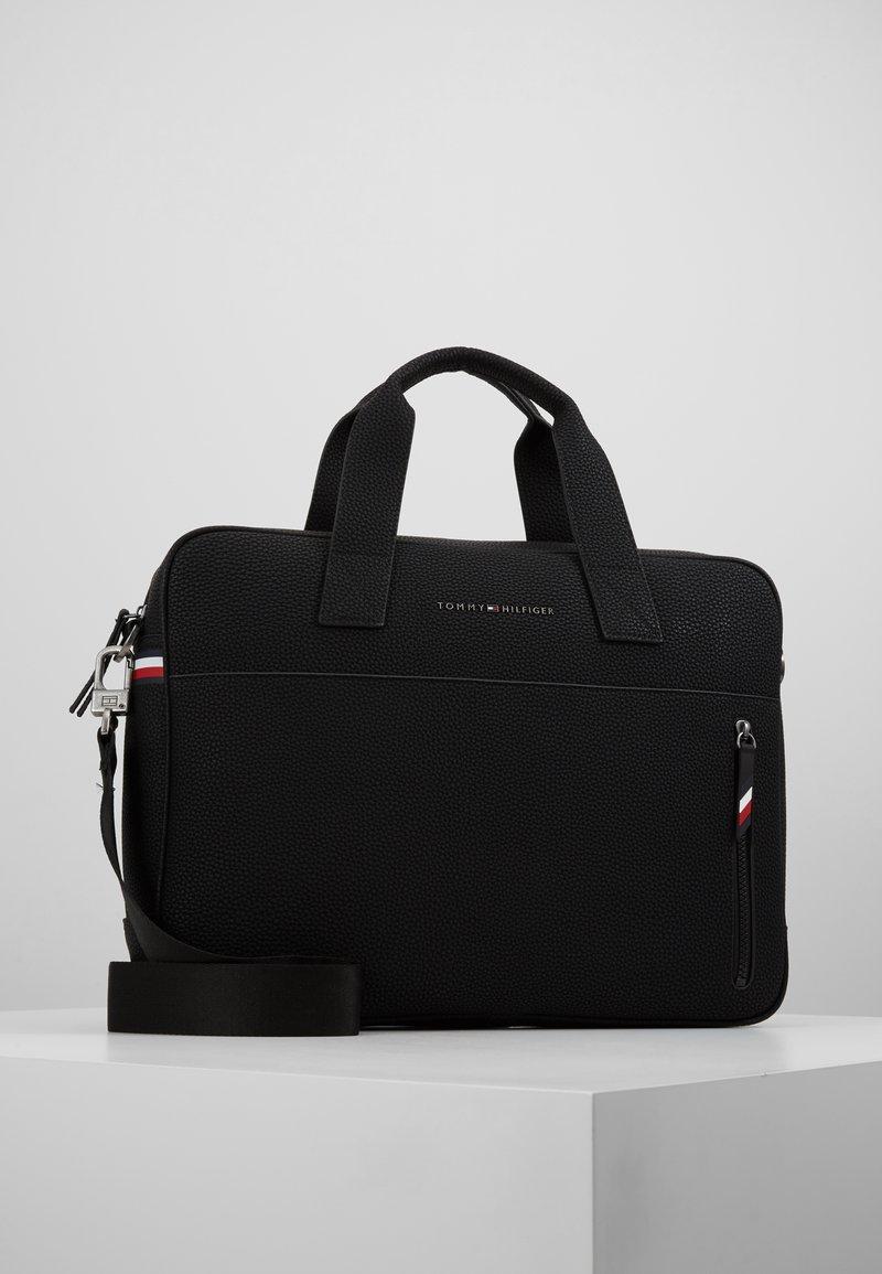 Tommy Hilfiger - ESSENTIAL COMPUTER BAG - Attachetasker - black