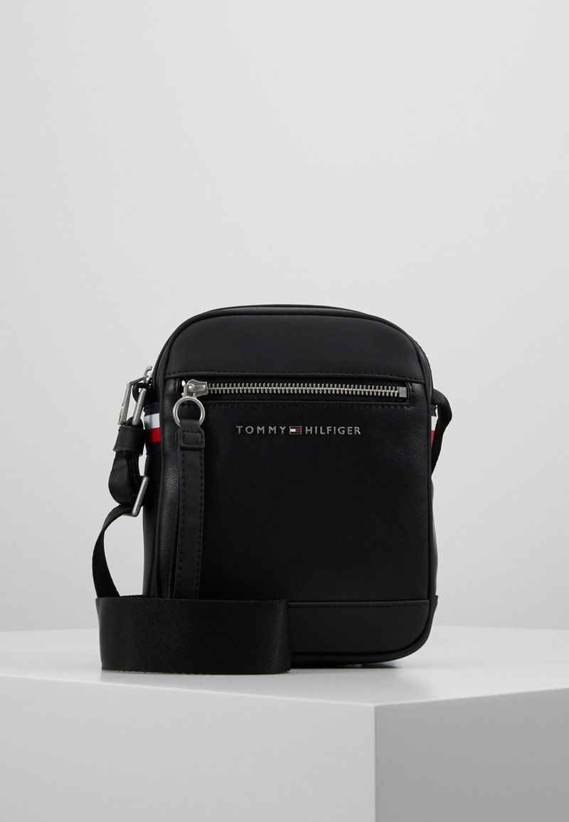 Tommy Hilfiger - MINI REPORTER - Across body bag - black