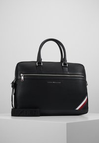 Tommy Hilfiger - DOWNTOWN COMPUTER BAG - Laptop bag - black - 0