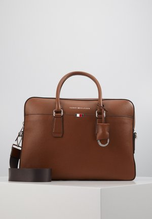 BUSINESS SLIM BAG - Aktentasche - brown