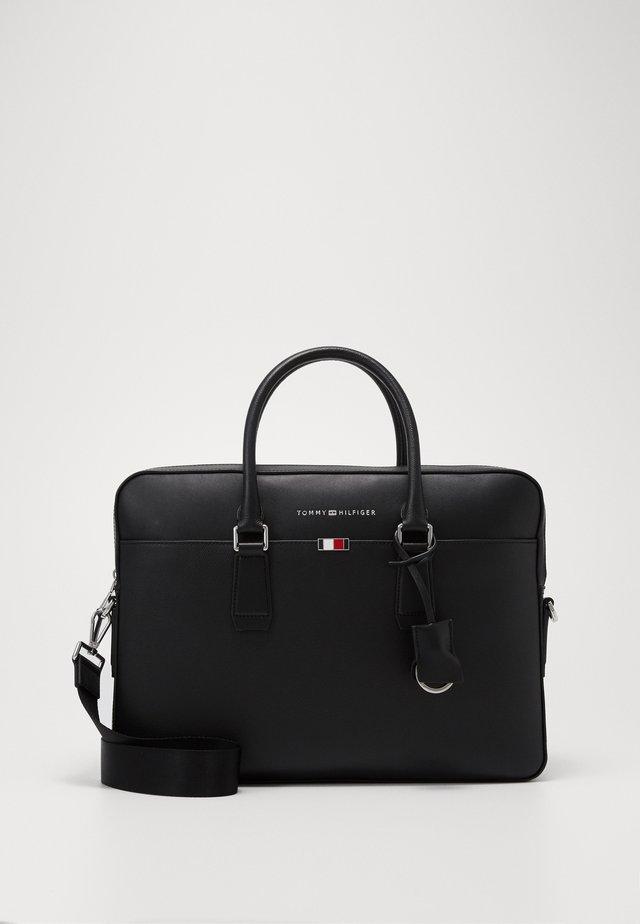 BUSINESS SLIM BAG - Portafolios - black