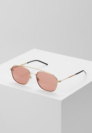 Okulary przeciwsłoneczne - gold pink