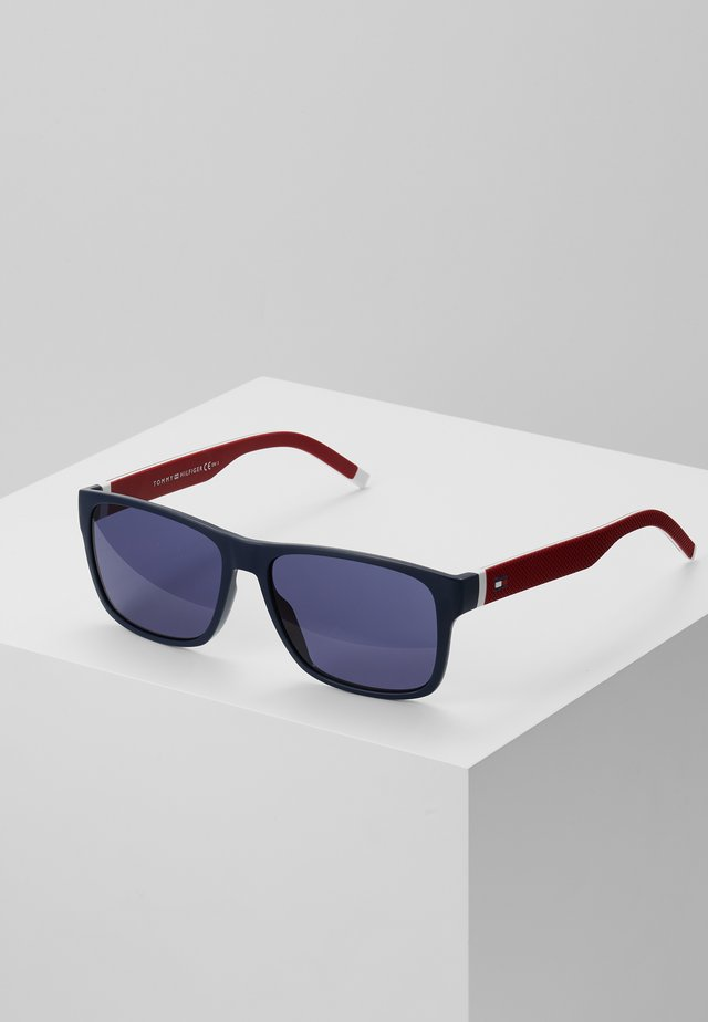 Sunglasses - blue/red/white