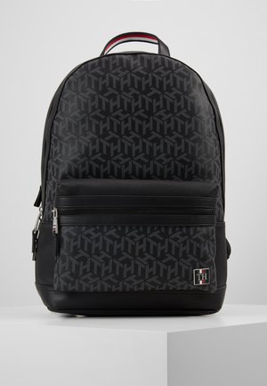 COATED BACKPACK - Reppu - black