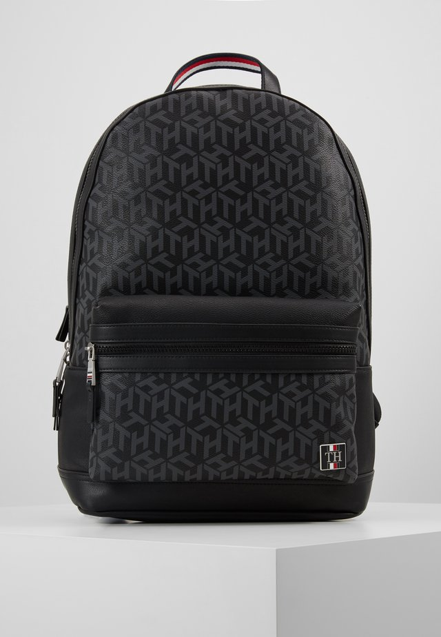 COATED BACKPACK - Ryggsäck - black