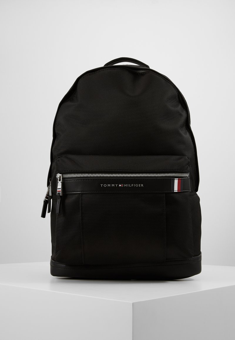 Tommy Hilfiger - ELEVATED BACKPACK - Rucksack - black