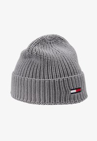 Tommy Jeans - BASIC FLAG BEANIE - Czapka - grey - 4