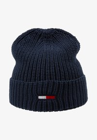 Tommy Jeans - BASIC FLAG BEANIE - Czapka - blue - 4