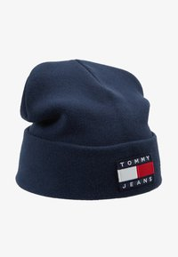 Tommy Jeans - HERITAGE FLAG BEANIE - Mütze - blue - 4