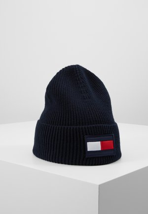 BIG FLAG BEANIE - Gorro - blue