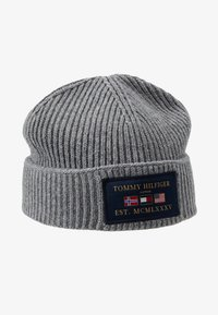 Tommy Hilfiger - OUTDOORS PATCH BEANIE - Muts - grey - 4