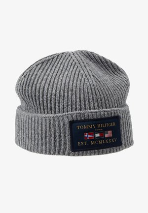 OUTDOORS PATCH BEANIE - Berretto - grey