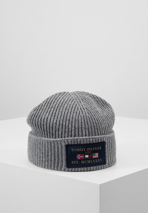 OUTDOORS PATCH BEANIE - Huer - grey