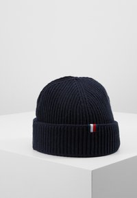 Tommy Hilfiger - OUTDOORS PATCH BEANIE - Beanie - blue - 0