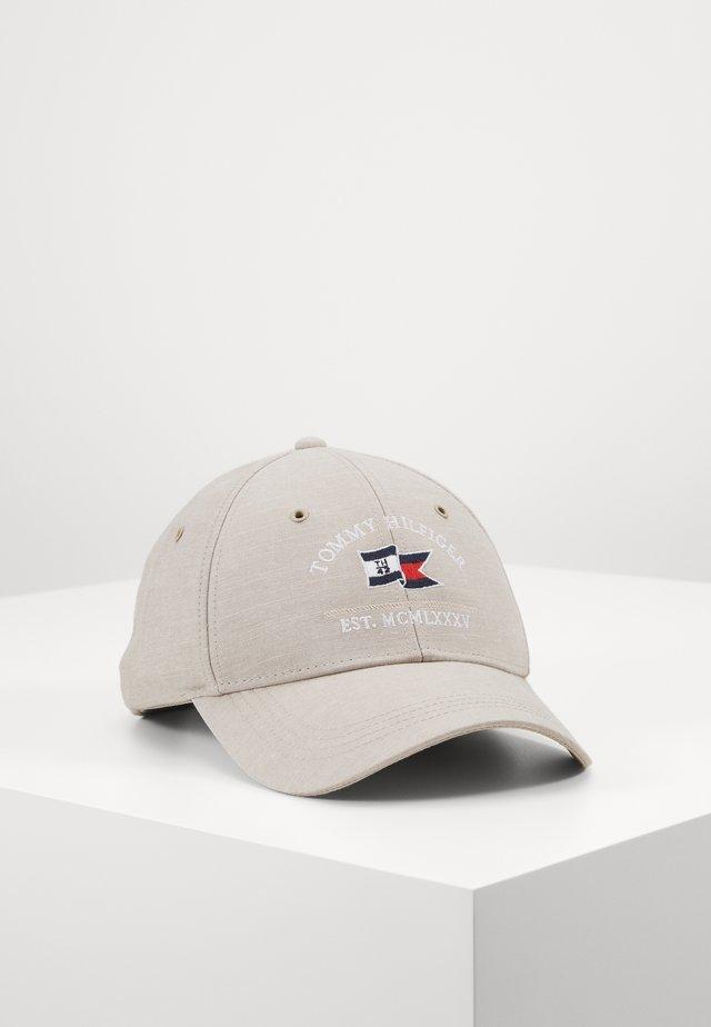 PATCH FLAG - Gorra - beige