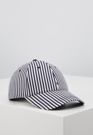 STRIPES - Cap - blue