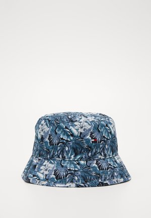 FLAG BUCKET HAT REVERSIBLE - Hoed - blue