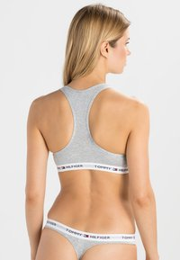 Tommy Hilfiger - BRALETTE ICONIC - Bustier - grey - 2