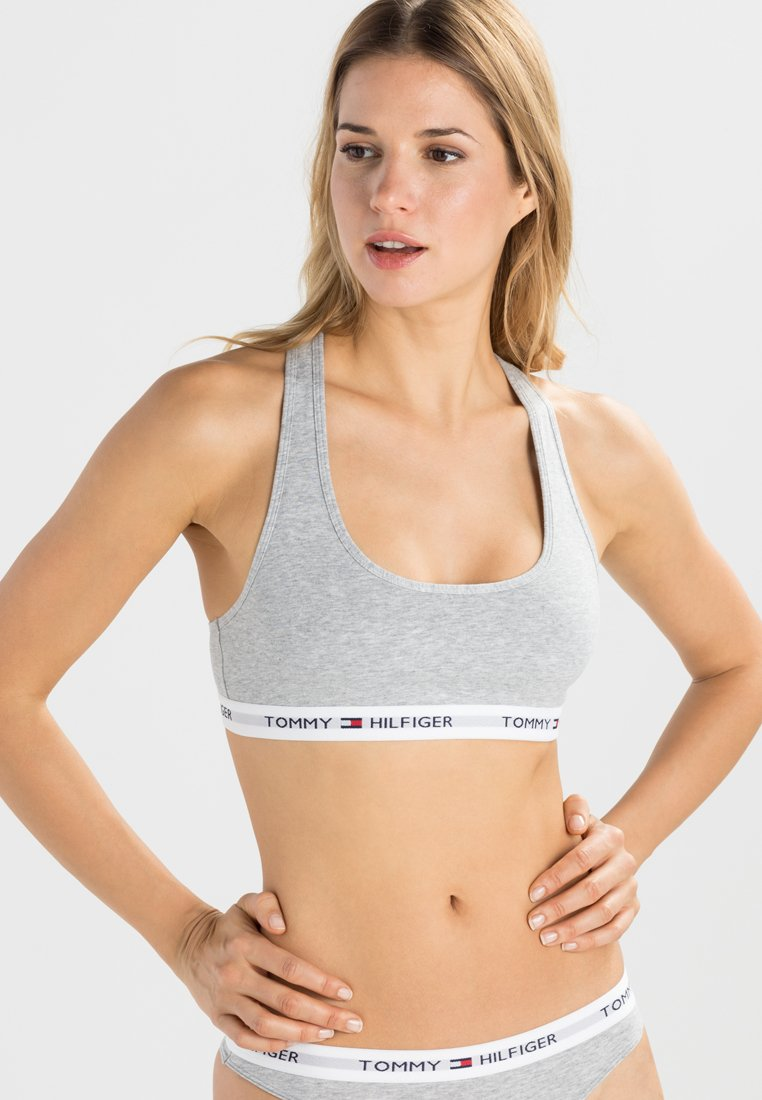 Tommy Hilfiger - BRALETTE ICONIC - Bustier - grey