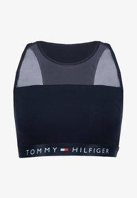 Tommy Hilfiger - SHEER FLEX BRALETTE - Top - navy blazer - 4
