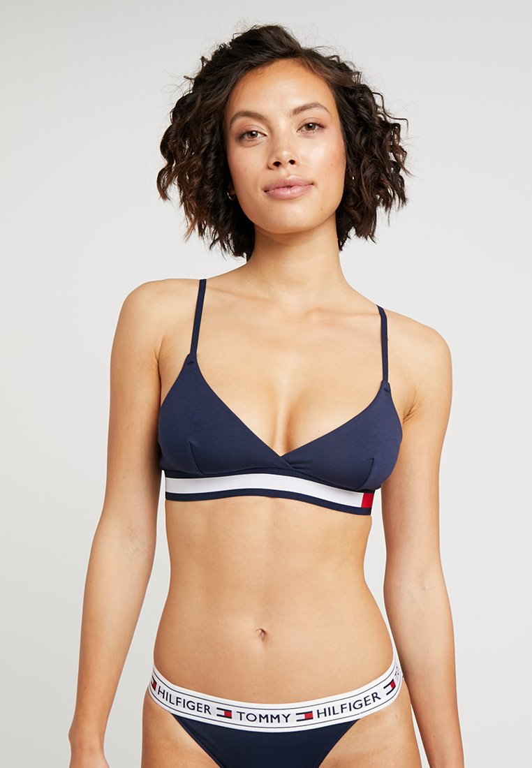 Tommy Hilfiger - COLOR BLOCK BRA - Triangel BH - navy blazer
