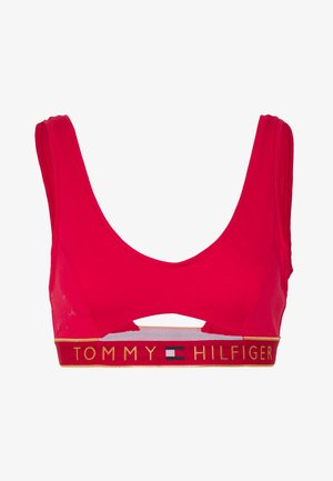ORIGINAL CUT OUT BRALETTE - Top - tango red