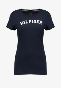 Tommy Hilfiger - TEE - Pyjamashirt - blue - 4