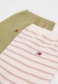 Tommy Hilfiger - WOMEN SMALL STRIPE 2 PACK - Socken - light pink - 2