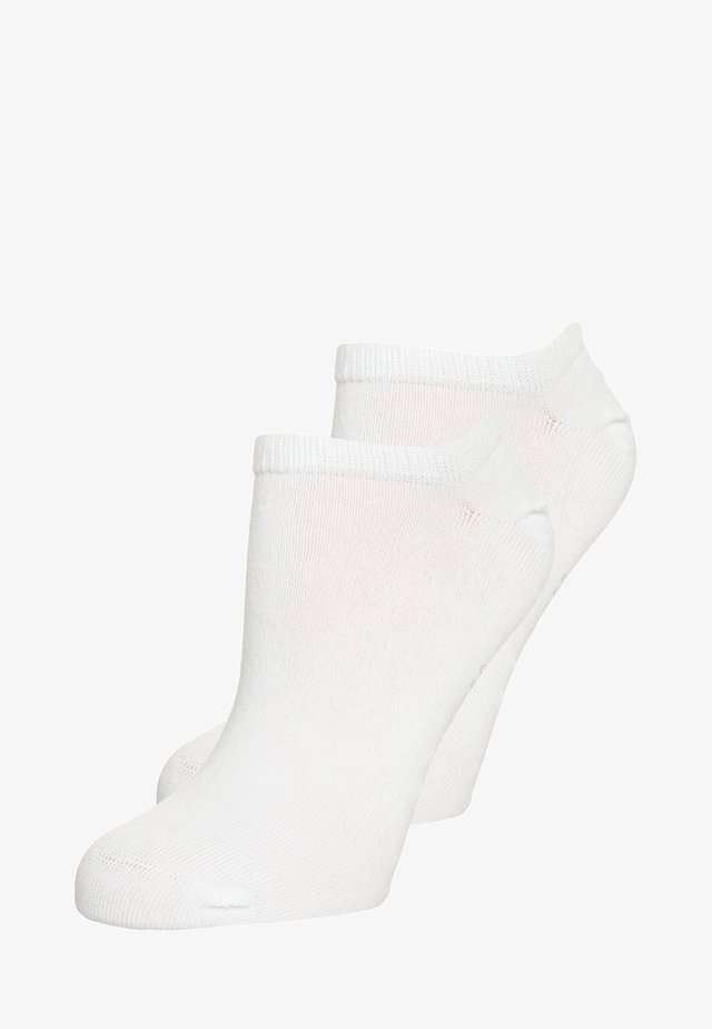 WOMEN SNEAKER 2 PACK - Skarpety - white