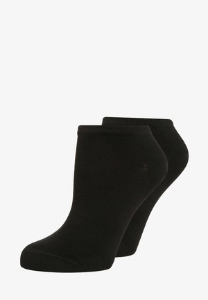 WOMEN SNEAKER 2 PACK - Socks - black