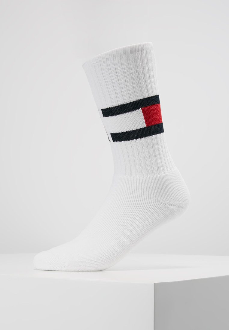 Tommy Hilfiger - FLAG - Calcetines - white