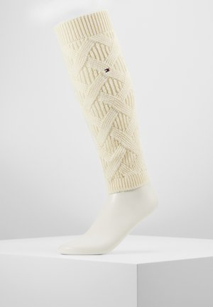 WOMEN LEG WARMERS - Guêtres - off white