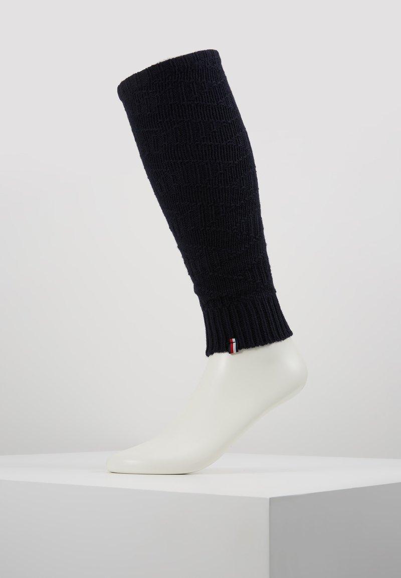 Tommy Hilfiger - WOMEN LEG WARMERS - Pletené návleky na lýtka - navy
