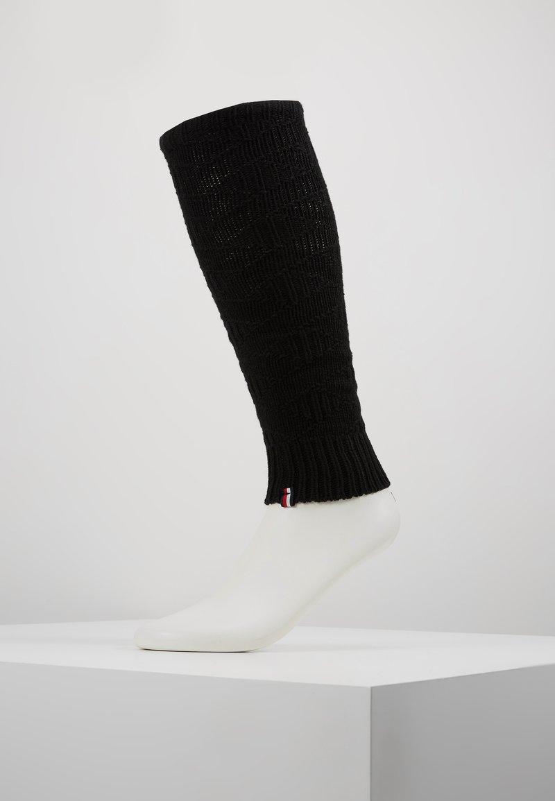 Tommy Hilfiger - WOMEN LEG WARMERS - Stulpen - black