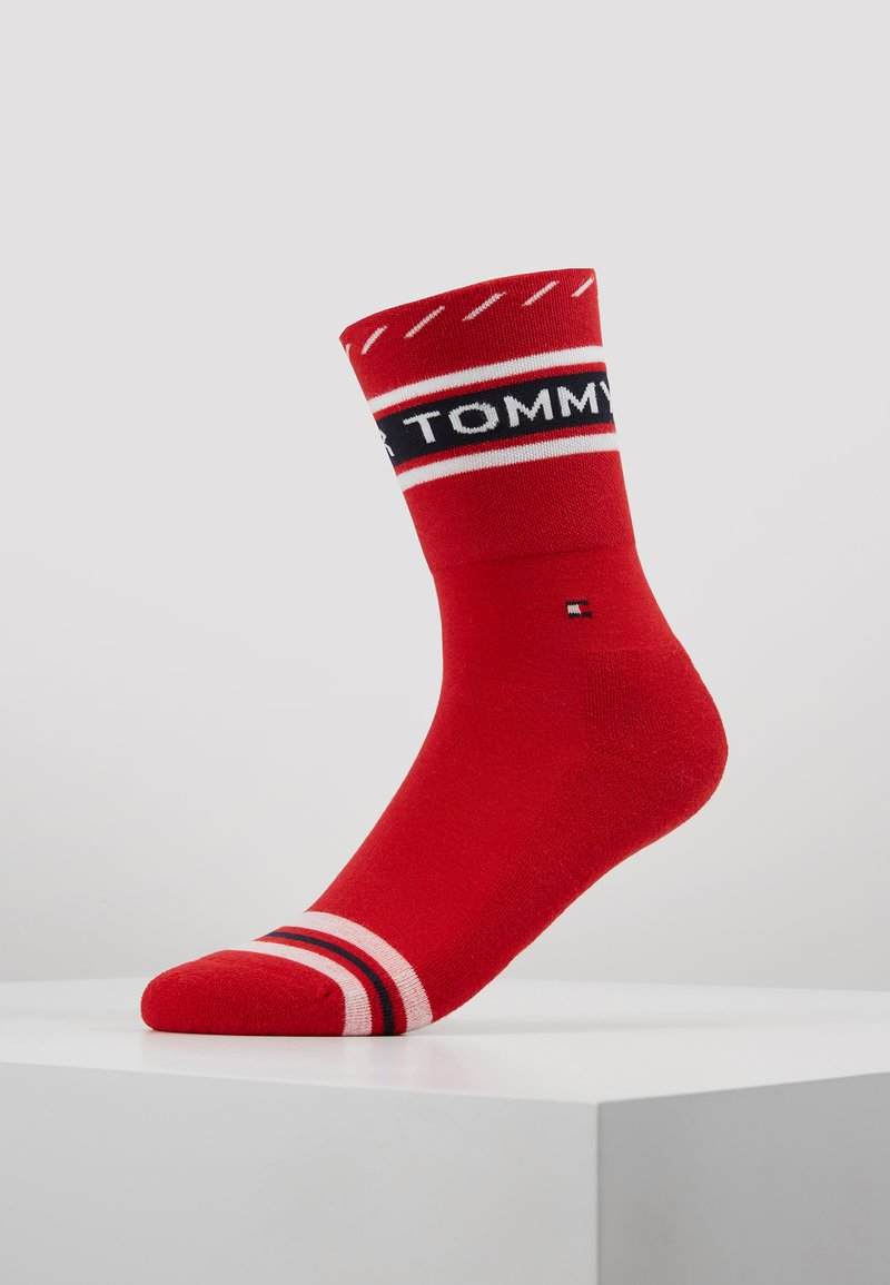 Tommy Hilfiger - WOMEN SOCK LOGO - Socken - red