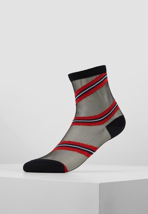 WOMEN SOCK TRANSPARENCY - Chaussettes - navy/red