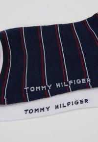 Tommy Hilfiger - WOMEN SHORT SOCK PREPPY 2 PACK - Skarpety - midnight blue - 2