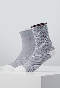 Tommy Hilfiger - WOMEN SOCK REFINED - Sokken - midnight blue - 0