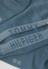 Tommy Hilfiger - WOMEN SOCK HEEL STRIPE - Ponožky - sea green - 2